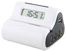 Letter Opener USB Hub Clock - Часы открывающие конверты + usb-хаб