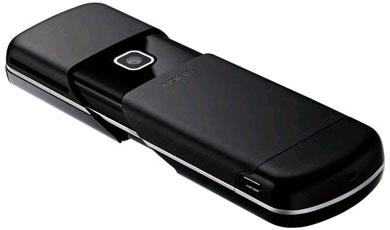 Nokia 8600 Luna с единственным разъемом на борту