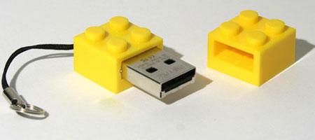 USB Memory LEGO Brick - не простой кирпичик