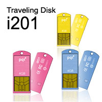 Traveling Disk i201 Perfect Disk - миниаютрные цветные флэшки
