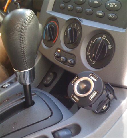 4 Port USB Car Charger Adapter - автомобильный адаптер с 4 usb  портами