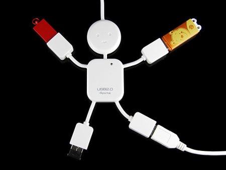Super Kid USB 4-Port Hub - эволюция продолжается
