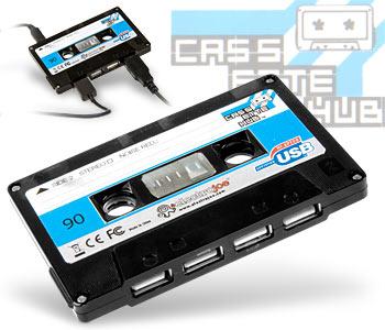 USB Tape Hub - аудио касета в новом исполнении