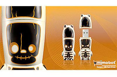 Mimobot - флешка для helloween