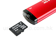 JT 2-in1 Flash Drive + MircoSDHC Card reader - флэшка и картридер
