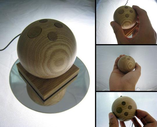 Jupiter Mouse - деревянная мышка