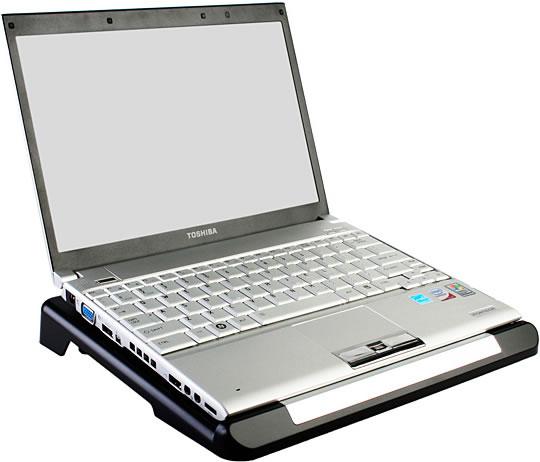 Laptop Cooler with USB Hub and HDD Slot - Дополнительный кулер для ноутбука с USB-хабом и слотом для жесткого диска