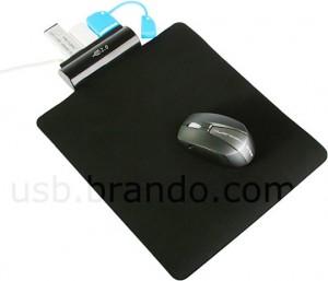 Mousepad with Built-In USB Hub - Коврик для мыши со встроенным USB-хабом