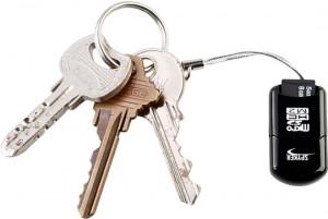 Mini USB MicroSD/T-Flash + M2 Card Reader