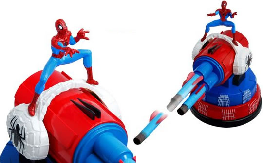 Spider-Man USB Missile Launcher - USB Мини-ракетница из серии Spider Man