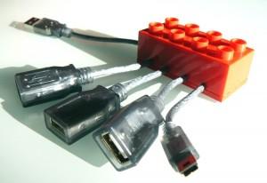 LEGO хаб с mini-usb