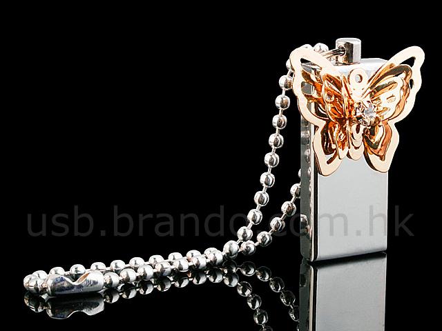 Флешка с бабочкой
