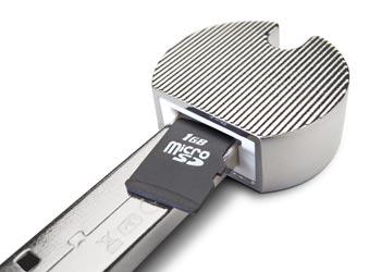 картриде passkey для microsd карт