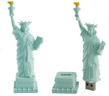 Statue Of Liberty USB Drive - Флешка в виде Статуи Свободы