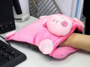 Animal USB Warmer Mouse Pad