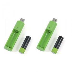 АА зарядное устройство от USB