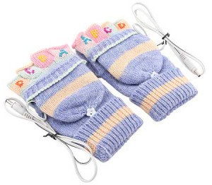 usb heating gloves for lady
