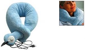 usb массажер для шеи в виде шарфа