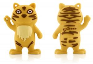 4Gb Bone Tiger - желтый тигренок