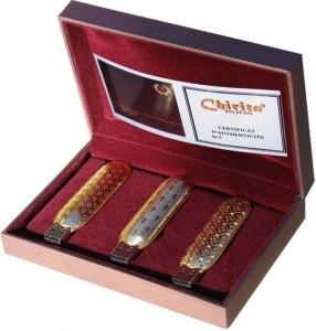 Luxury Christmas Gadget - роскошный Рождественский подарок из трех флешек по 64 Гб