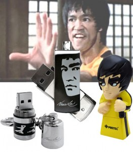 Pretec Bruce Lee-themed Flash Drives - флешки Брюс Ли