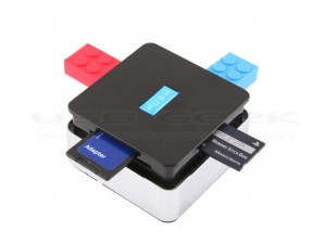 USB Push-up Hub Combo - Непроницаемый хаб + картридер