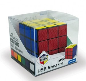 Rubik's Cube Mp3 Player Ipod USB Speaker Portable
