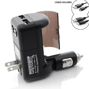Trans4m Dual Port USB Charger