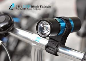 3-in-1 LED Bicycle Flashlight - Многофункциональный фонарик для велосипеда