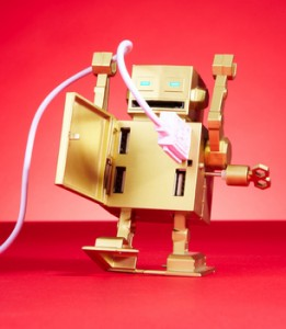 Roboto USB Hub - Хаб в виде ретро-робота