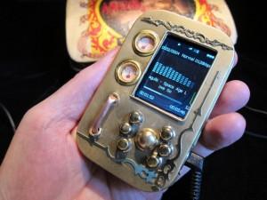 Steampunk MP3/video player - Плеер в стиле стимпанк