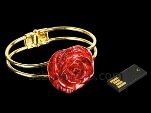 USB Rose Bracelet Flash Drive - Флешка-браслет