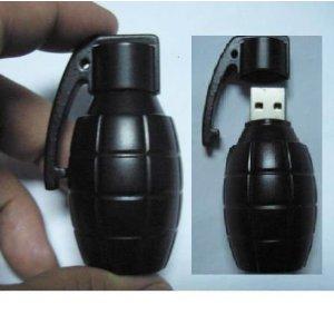 3D Bomb Shape USB Flash Drive - Флешка-граната