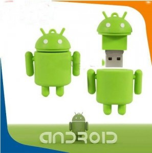 Android shape 16 GB USB 2.0 Flash Memory Stick - Android-флешка