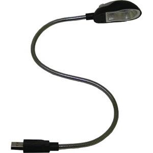 Лампочка на присоске с гибкой ножкой
