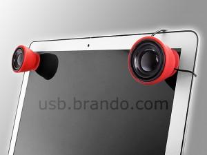 USB Portable Mini Stereo Speaker With Sucker - Динамики с присосками