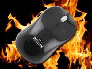 USB Warmer Mouse - Мышка с обогревателем
