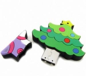 Новогодние и рождественские USB-флешки
