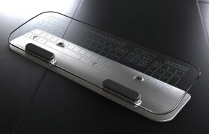 Multi-Touch Keyboard and Mouse - Стеклянная мультитач клавиатура и мышь