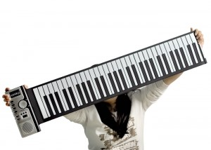 Flexible Roll Up Synthesizer Keyboard Piano - Гибкий синтезатор