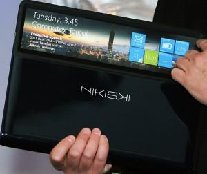 Intel Nikiski - Прототип ноутбука с прозрачным тачпадом