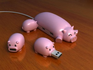 Pig Buddies - Концепт хаба-свиньи