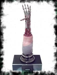 Terminator 2 Animatronic Endoskeleton Arm - Программируемая рука T-800