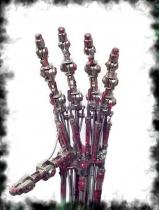 Terminator 2 Animatronic Endoskeleton Arm - Программируемая рука T-800