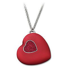 Swarovski USB Heart - Флешка с кристаллами Сваровски