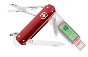 Victorinox SSD 1 Tb - Швейцарский нож с флешкой емкостью 1 Тб