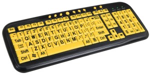 High Contrast Keyboard - Высококонтрастная клавиатура