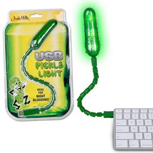 USB Pickle Light – лампа в виде огурца