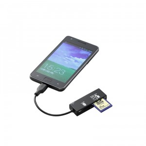 Memory Card Reader For Smartphone / Tablet PC - Картридер для смартфонов и планшетов