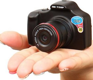"Kun ""One Eye"" Camera – миниатюрная камера в виде «зеркалки»"